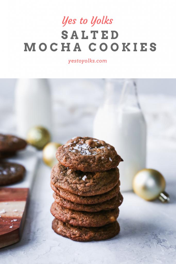 Salted Mocha Cookies