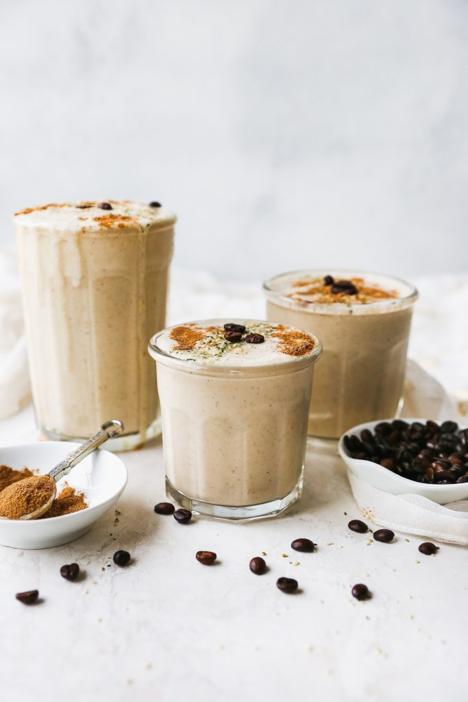Chai Coffee Protein Smoothie