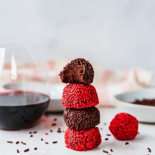Dark Chocolate & Red Wine Truffles