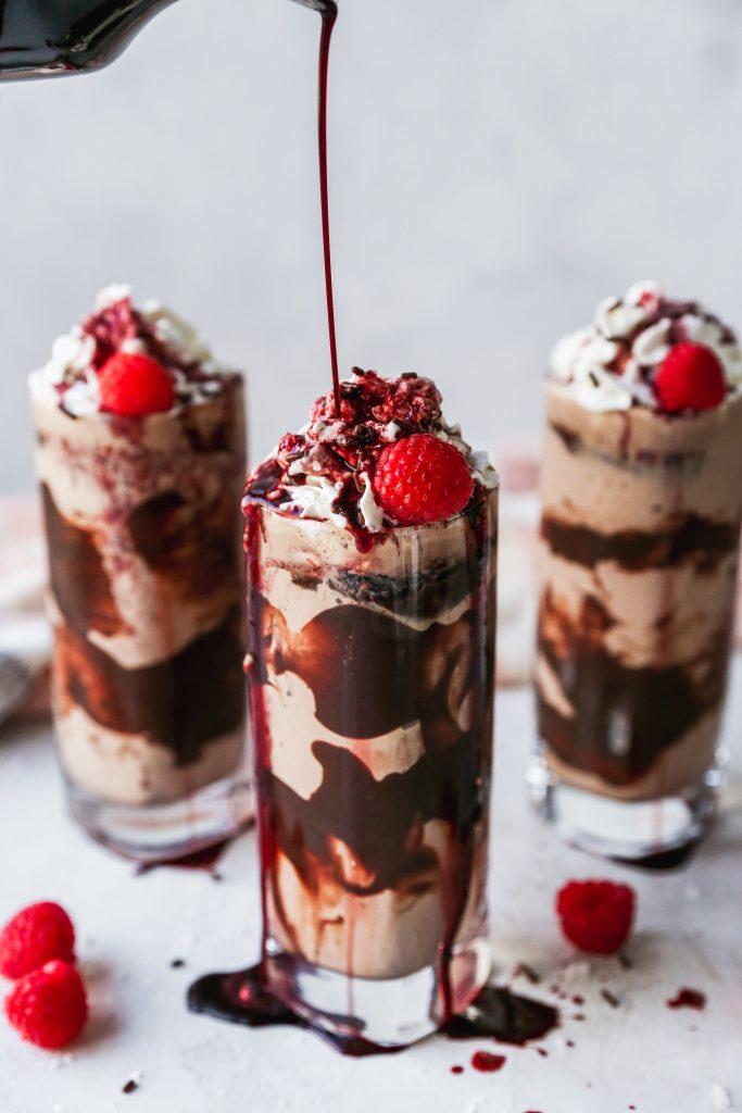 Chocolate & Cabernet Milkshakes