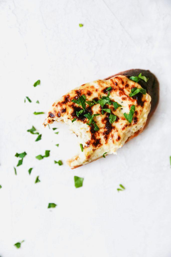 Caramelized Onion & Artichoke Dip Crostini