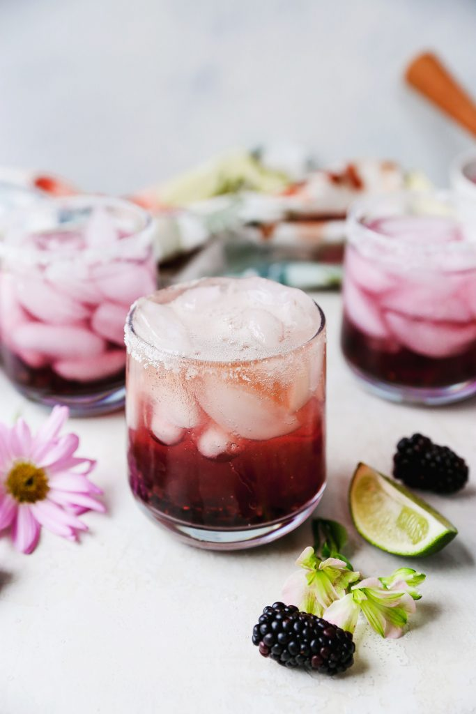 Blackberry Lime Margaritas