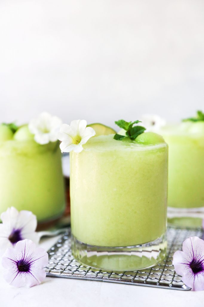 Honeydew Mojito Slushies