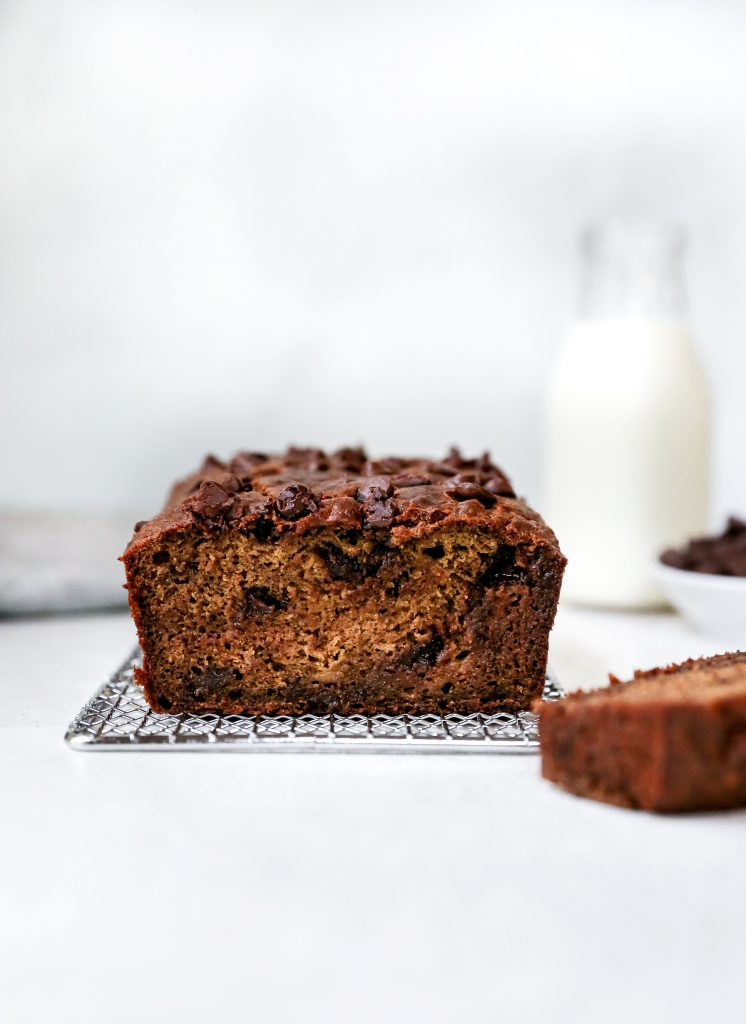 Espresso Chocolate Banana Bread