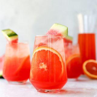 Watermelon Aperol Spritz