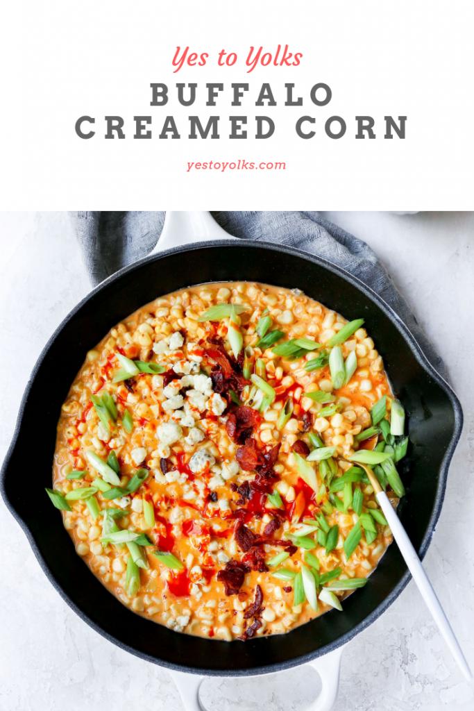 Buffalo Creamed Corn