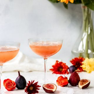 Honey Fig Martinis