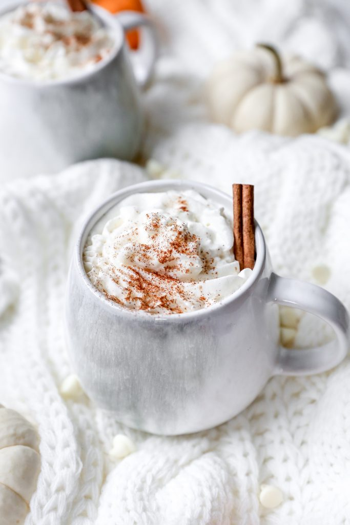 Pumpkin Spice & White Chocolate Lattes