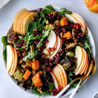 Honeycrisp Harvest Salad with Apple Cider Vinaigrette