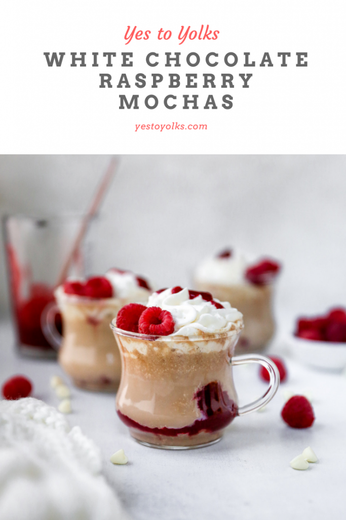 White Chocolate Raspberry Mochas