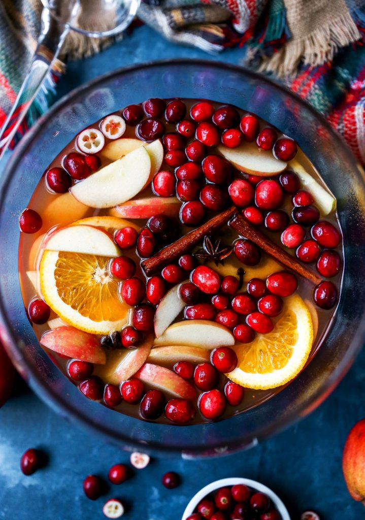 Spiced Apple Butter Sangria