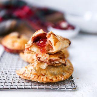 Savory Brie & Cranberry Chutney Hand Pies