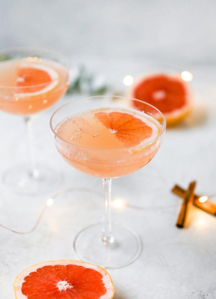 Spiced Grapefruit Rosé Spritzer