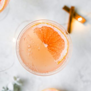 Spiced Grapefruit Rosé Spritzer