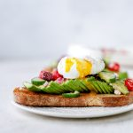 Greek Avocado & Egg Toasts