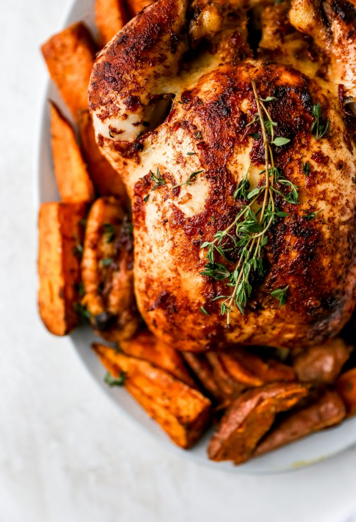 Honeyed Harissa Roast Chicken