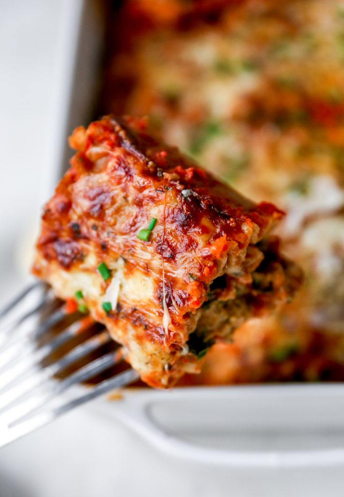 Turkey & Greens Lasagna Rolls