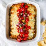 Refried Bean Enchiladas with Fresh Pico