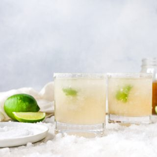Fresh Pear Margaritas