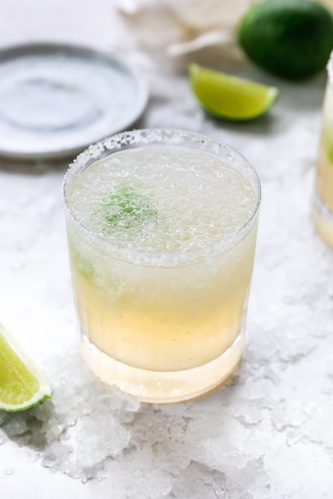 Fresh Pear Margaritas