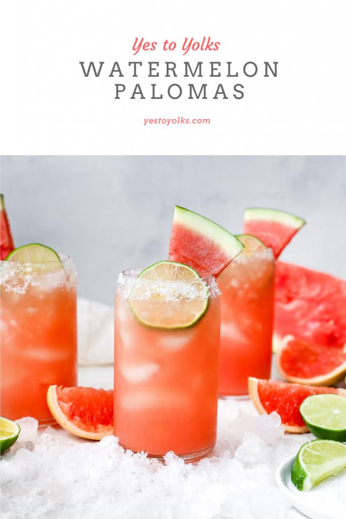 Watermelon Palomas