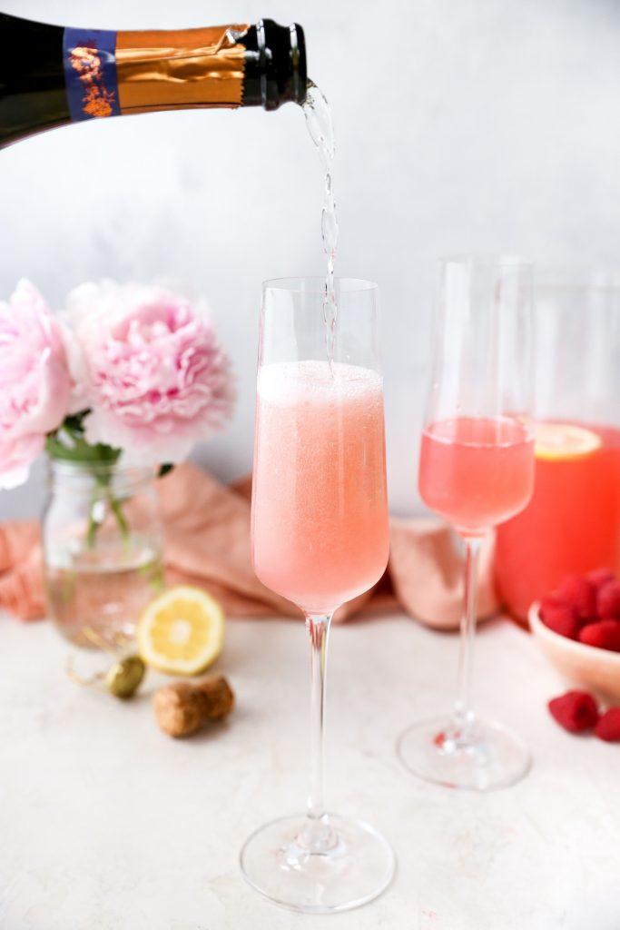 Pink Lemonade Mimosas