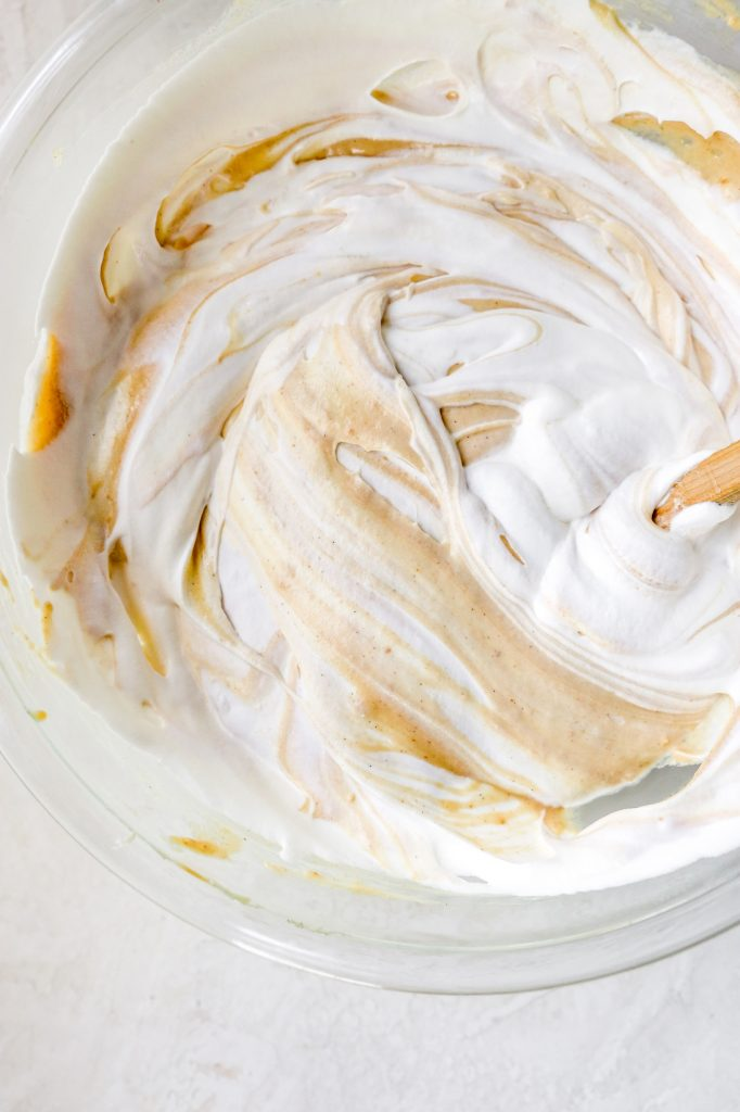 No-Churn Browned Butter PB & J Ice Cream