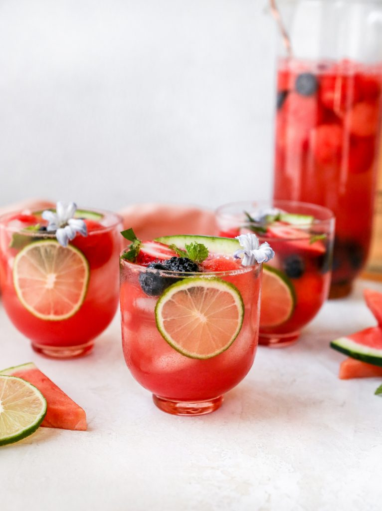 Watermelon Berry Rosé Sangria