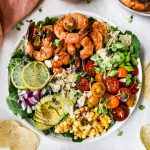 Grilled Shrimp Taco Salad