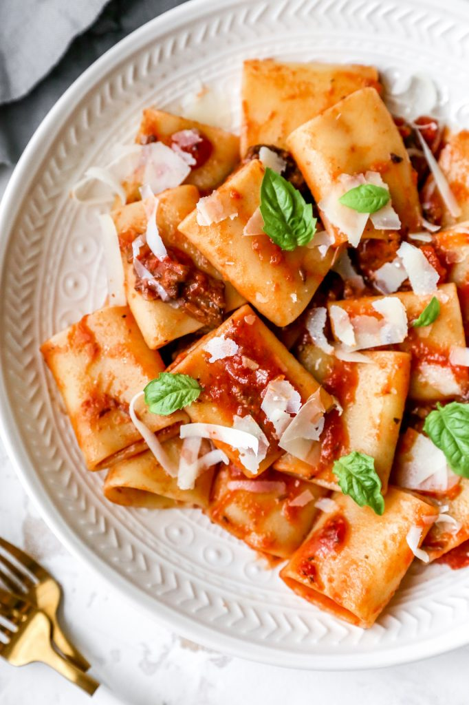 Our Favorite Red Wine Bolognese