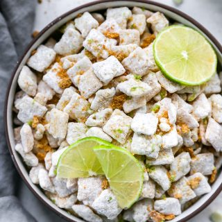 Key Lime Pie Puppy Chow