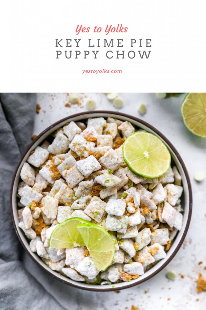 Key Lime Pie Puppy Chow