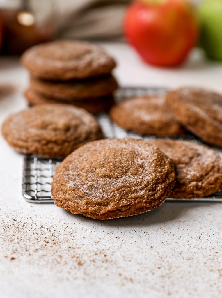 Apple Butter Snickerdoodles