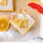 Grapefruit Lemon Bars