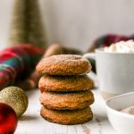 Brown Butter Bourbon Snickerdoodles