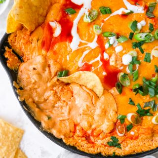 Quick & Easy Buffalo Chicken Dip