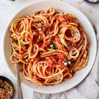 Our Favorite Pasta All'amatriciana