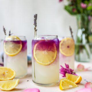 Lemon Lavender Gin Spritz