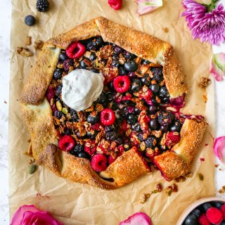 Mixed Berry & Granola Galette